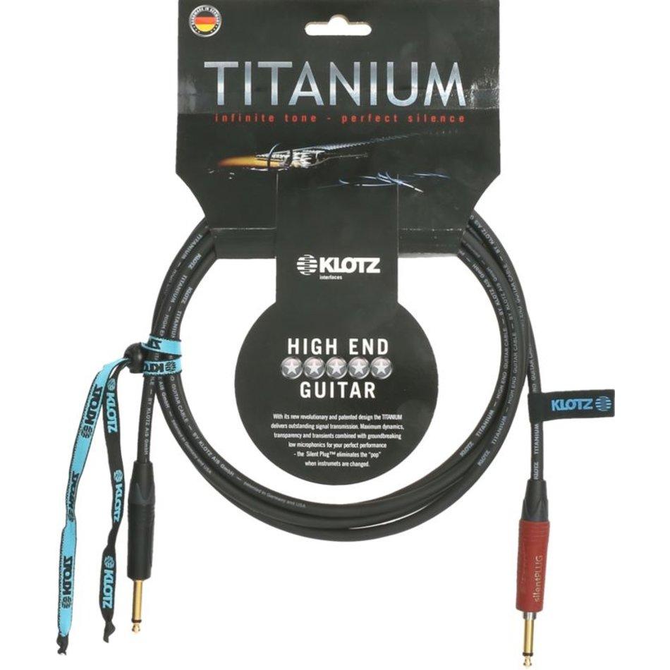 Klotz Titanium Guitar Silent Cable 3m.