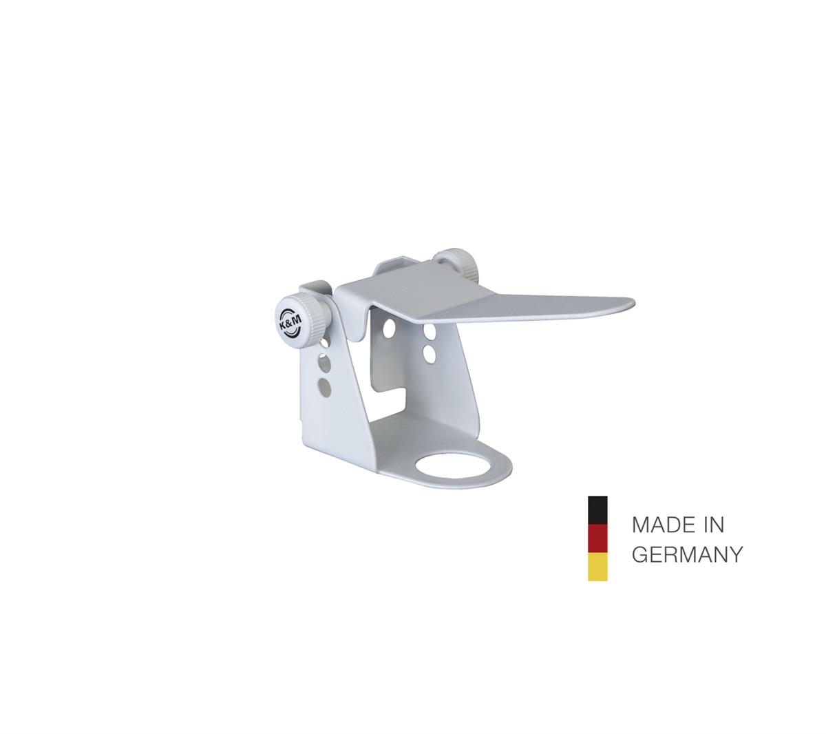 K&M 80398 Holder with lever for Disinfectan,25mm, white