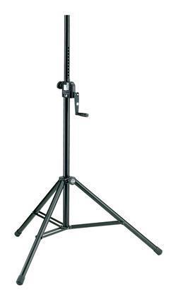 K&M 213 Høyttalerstativ m/sveiv, stål, vekt opptil 50 kg.