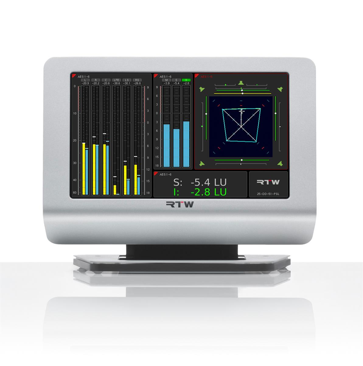 RTW TMR7S TouchMonitor Smart m/ alle Software Opsjoner