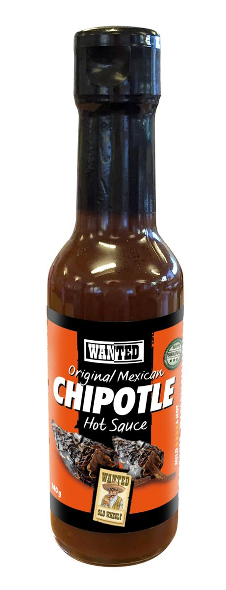 Chipotle hot saus 140 ml wanted
