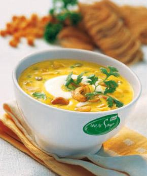 Indian curry soup 100% knorr 4/2,5 lt