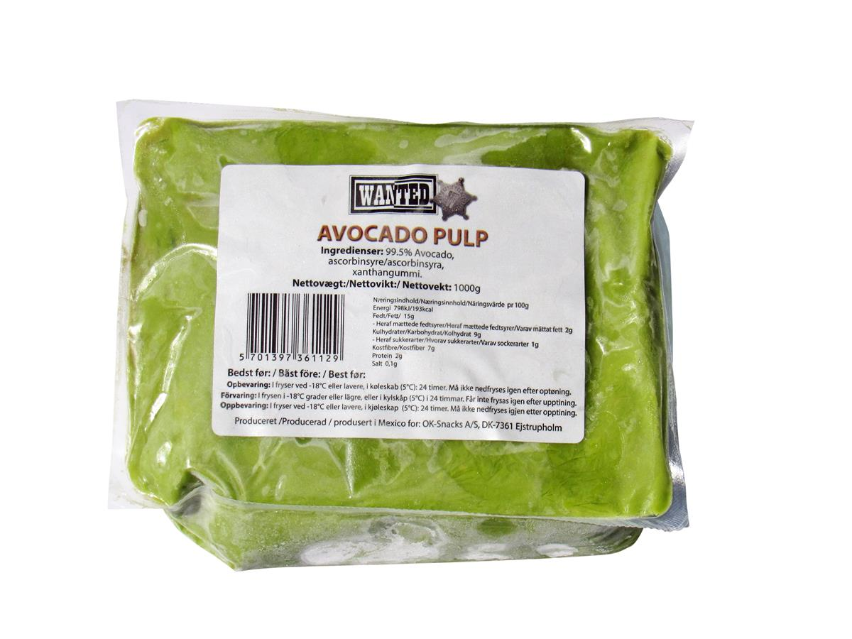 Guacamole avocado pulp 1 kg frys wanted