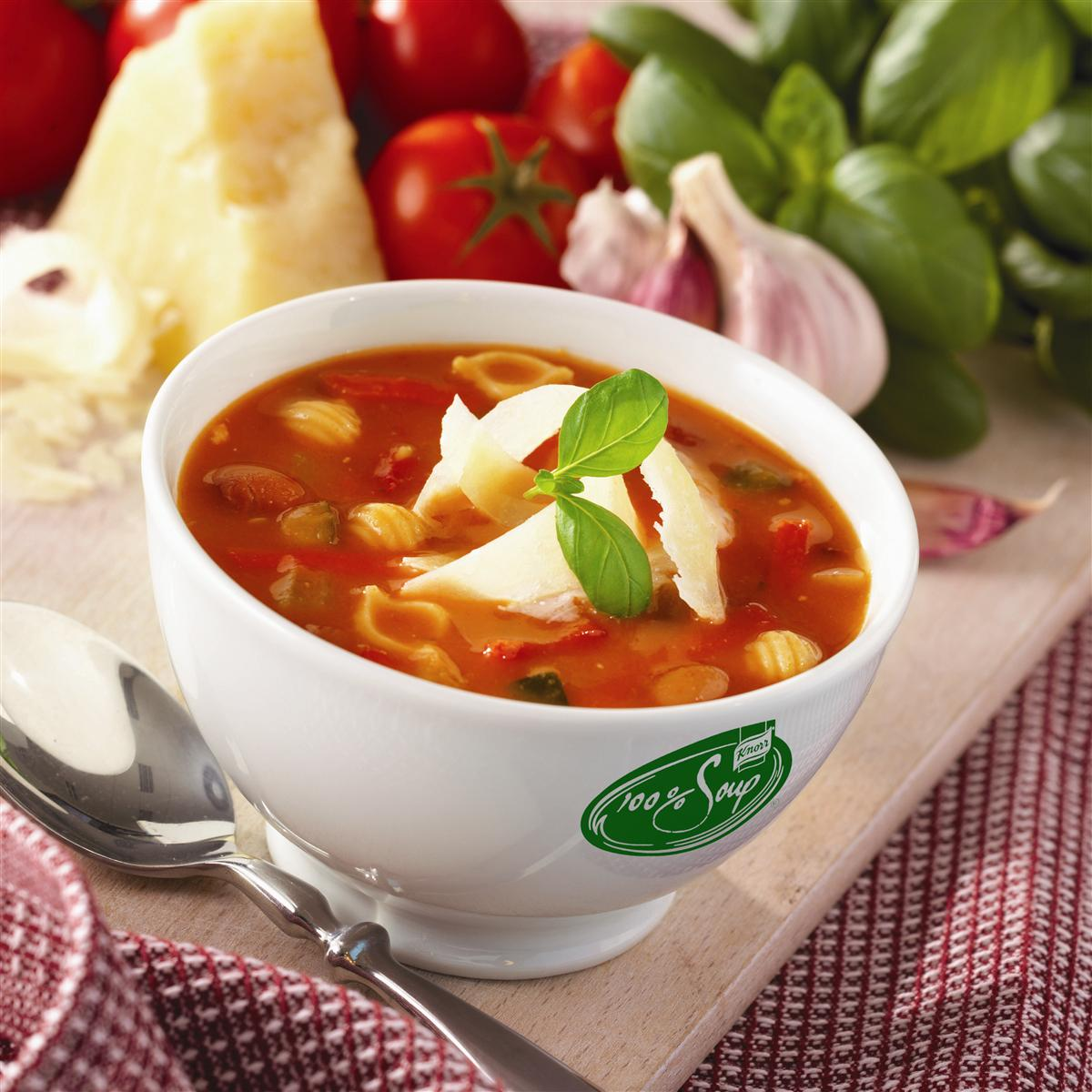Minestronesuppe soup 100% knorr 4/2,5 lt