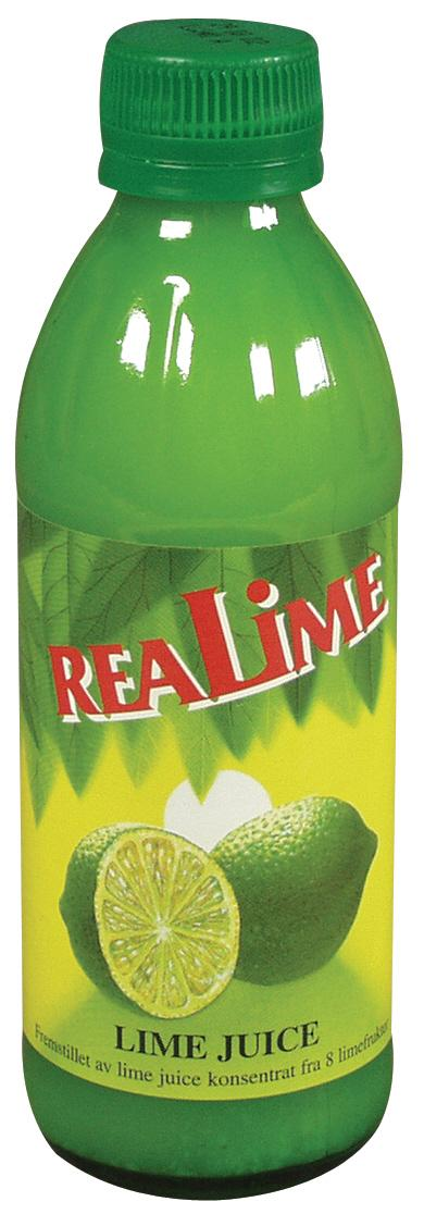 Limejuice realime borden 250 ml