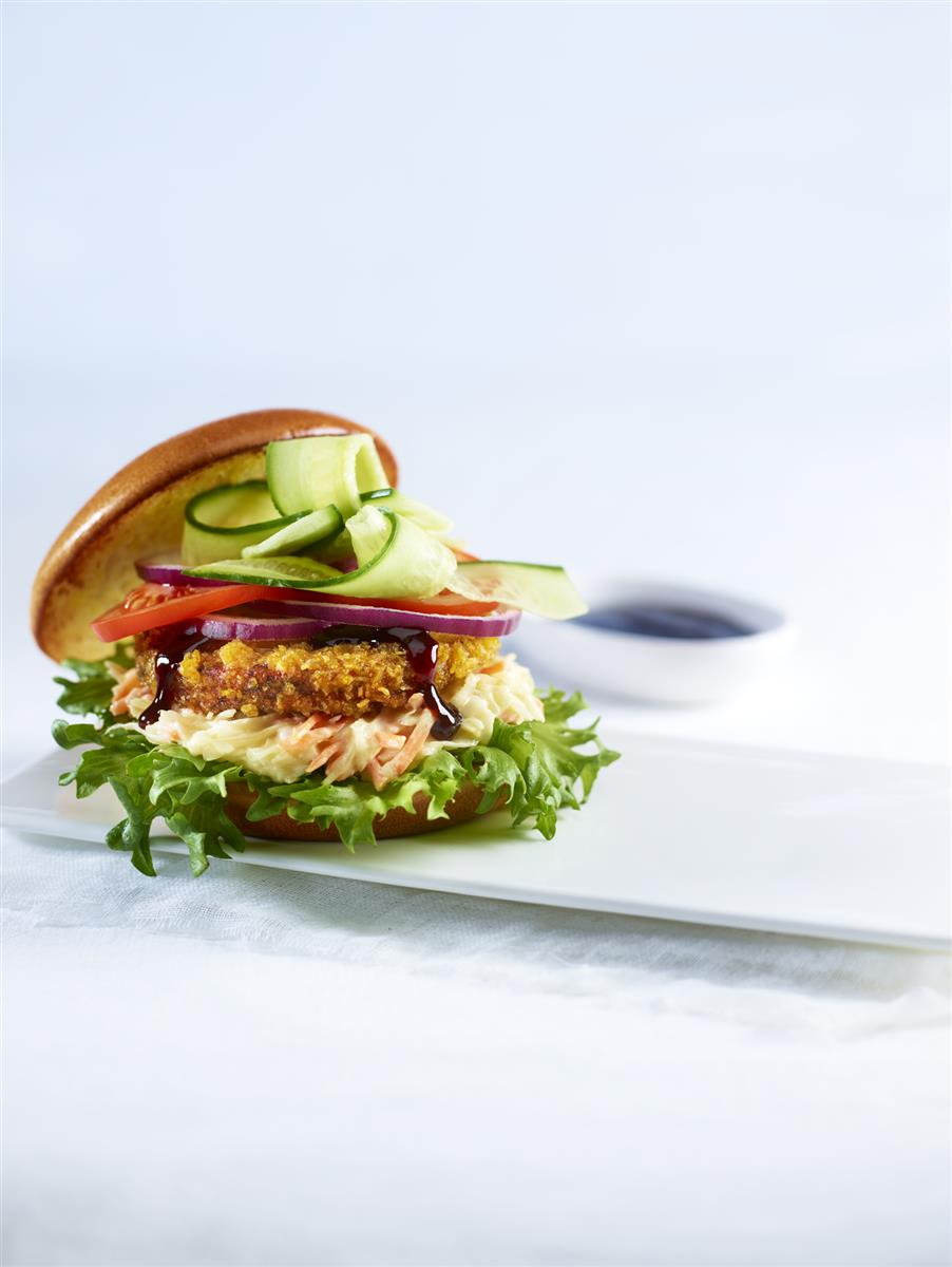 Vegan burger blackbean 48/90 g 4,32 kg