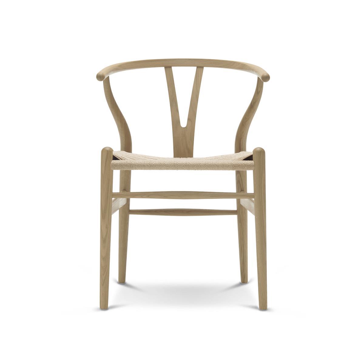Euklides Vang Vang stol. Eik hvitoljet.