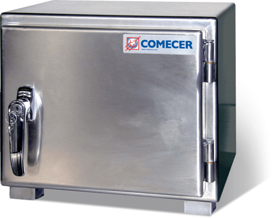 CCR50 Single compartment safe for radioisotopes