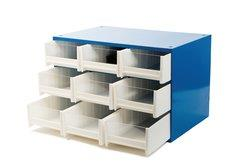 NATIONAL STOREROOM9 DRAWER,CABINET ONLY, 1PCS