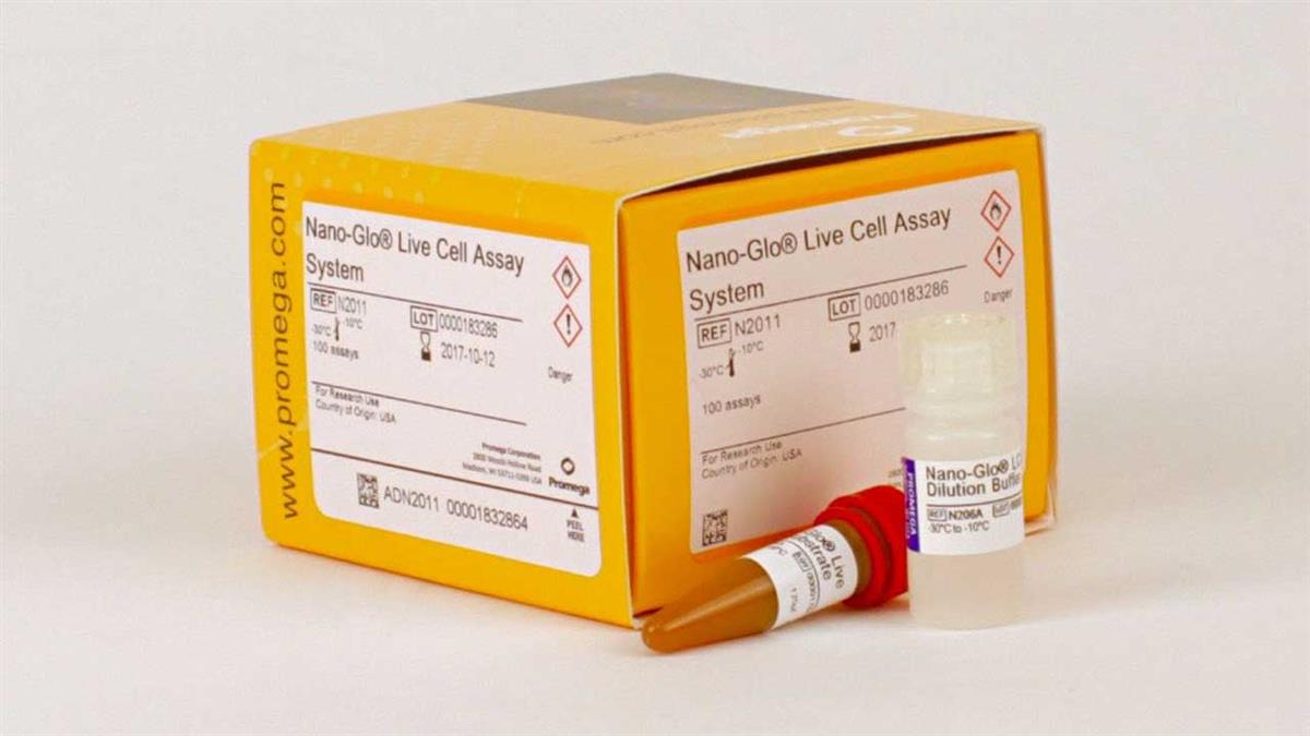 Nano-Glo Live Cell Assay System, 1,000 assays