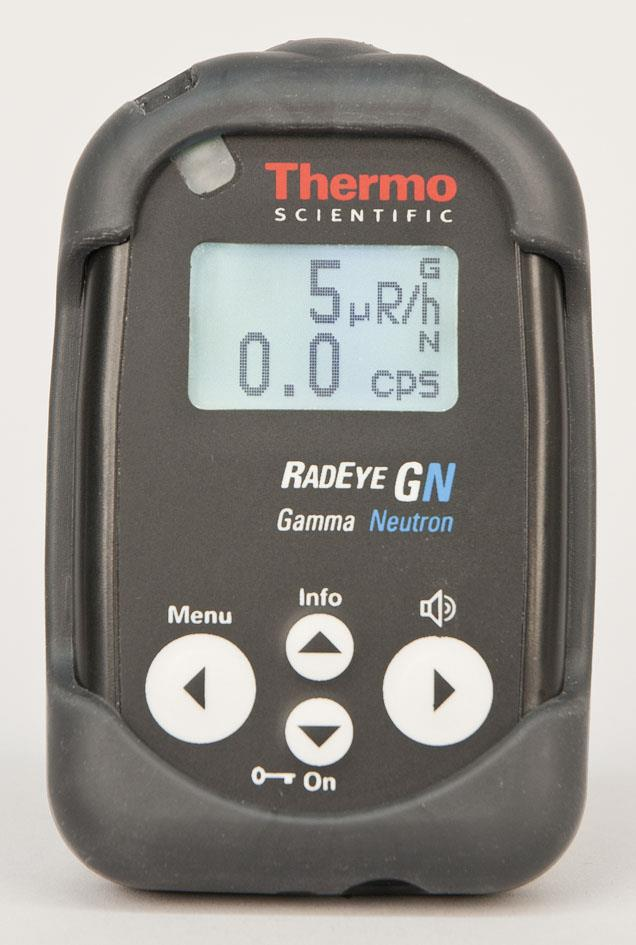 RadEye GN+, Gamma Neutron Pager with Cs2LiYCl6 (CLYC) crysta
