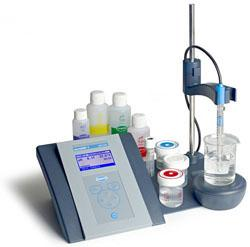 pH & ionmeter sensION+ MM 340 GLP, 2-kanals, 5014T elektrode
