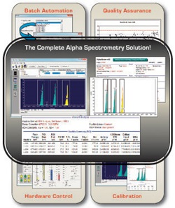 AlphaVision Alpha Spectrometry Management