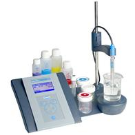 pH & ionmeter sensION+ MM 340 GLP, 2-kanals, 5010T elektrode