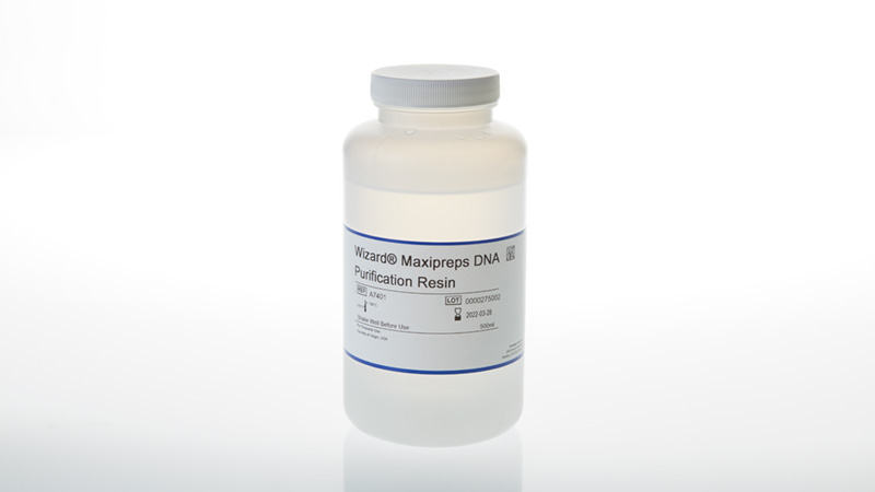 Wizard Maxipreps DNA Purification Resin