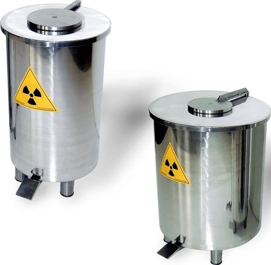 CR20-05 Canister for radioactive waste Pb 5mm